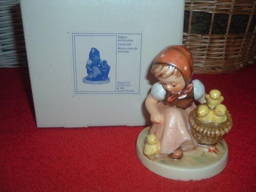 HUMMEL  Chick Girl, #57/I, TMK-6, NEW, Mint, w/Original Box