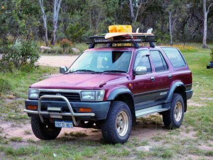 Toyota Hilux 4WD with WA Rego