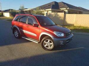 2003 Toyota RAV4 CRUISER Wagon - Red Leather seats - Amazing car! Morley Bayswater Area Preview