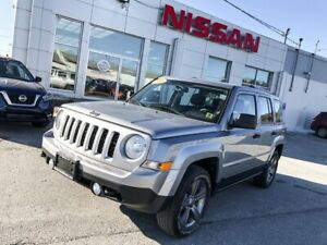 2016 Jeep Patriot Sport Altitude II ONLY 27,000KM!!! 4x4!