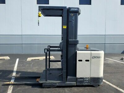 2008 Crown Sp3505-30 Electric Narrow Aisle Lift Forklift Reach Truck