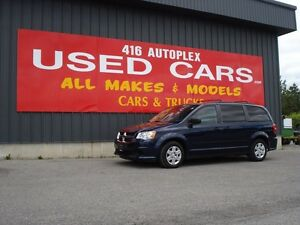 2012 Dodge Grand Caravan SE full stow and Go, Quads, Rear heat a
