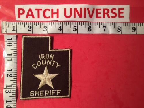 VERY OLD IRON COUNTY SHERIFF  SHOULDER  PATCH  S017