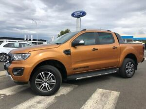 2020 Ford Ranger PX MkIII 2020.75MY Wildtrak Orange 10 Speed Sports Automatic Double Cab Pick Up Kilmore Mitchell Area Preview