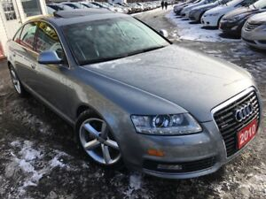 2010 Audi A6 3.0L Premium/ Navi / Backup Camera / Leather / AWD