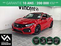 2018 Honda Civic Si COUPÉ HFP **GARANTIE 10 ANS**