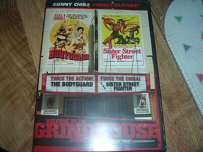 Welcome to the Grindhouse The Bodyguard Sister Street Fighter DVD HAPPYHALLOWEEN (Happy Halloween Martial Arts)