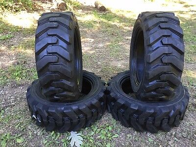 4-27x8.50-15 Hd Skid Steer Tires-27-8.50-15-solideal Xtra Wall-for Case More
