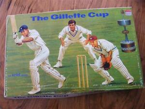 GILLETTE CUP CRICKET BOARD GAME ARIEL 1970