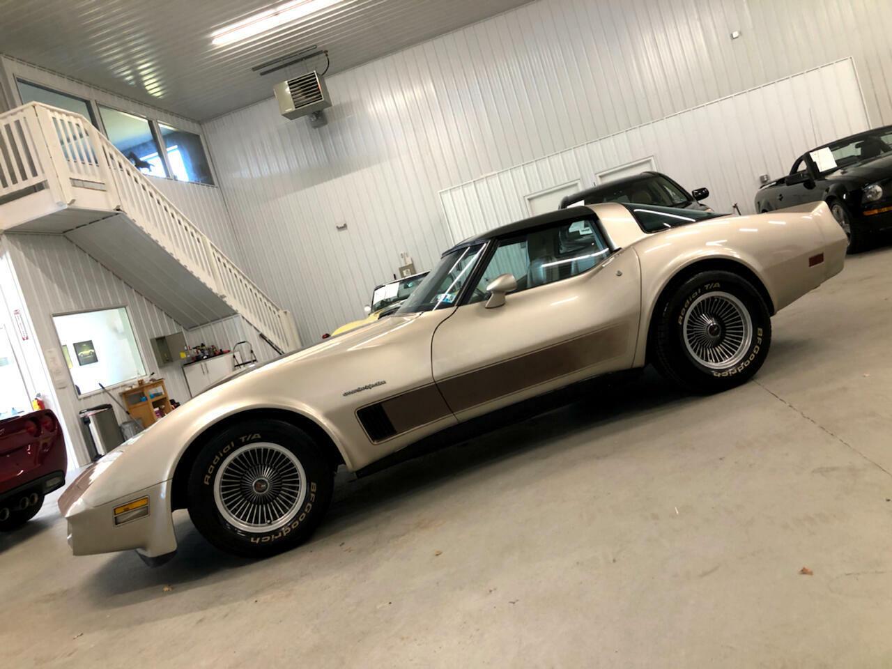 1982 Silver Chevrolet Corvette     C3 Corvette Photo 2