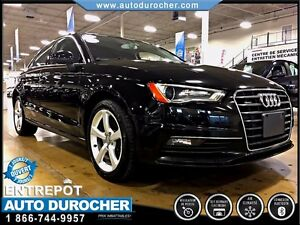 2015 Audi A3/S3 QUATTRO - CUIR - TOIT OUVRANT - MAGS