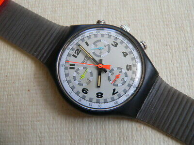 1990 Skate Bike SCB105 chronograph Swiss Swatch Watch Never worn.