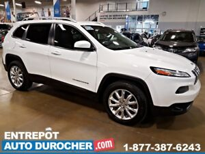 2015 Jeep Cherokee Limited 4X4 Automatique - NAVIGATION - CUIR -
