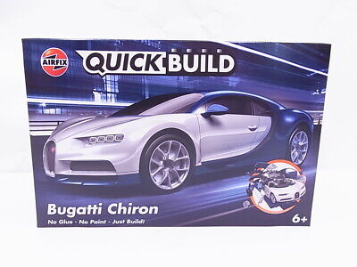 91116 AIRFIX J6044 Quickbuild Bugatti Chiron Bausatz Modellauto 6+ NEU in OVP