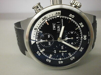 IWC Aquatimer 3719-33 42MM S/S Chronograph. NICE.