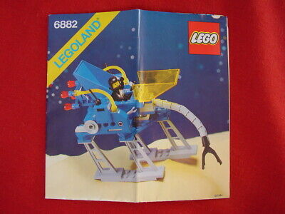 LEGO SPACE 6882 WALKING ASTRO GRAPPLER 100% COMPLETE VINTAGE SET 1985 (see items