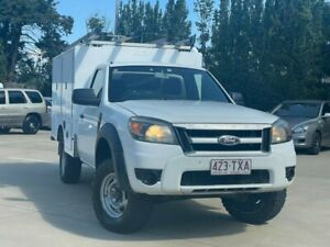 2009 Ford Ranger PK XL White 5 Speed Manual Cab Chassis South Toowoomba Toowoomba City Preview