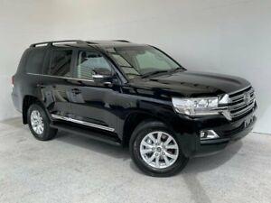 2020 Toyota Landcruiser VDJ200R Sahara Black 6 Speed Sports Automatic Wagon Mount Gambier Grant Area Preview