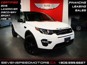 2016 Land Rover Discovery Sport DISCOVERY HSE Si4 | CERTIFIED |