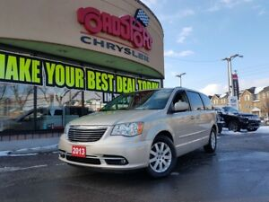 2013 Chrysler Town & Country TOURING 2 DVD P-ROOF H-TED WHEEL &
