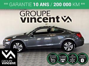 2012 Honda Accord COUPÉ EX ** GARANTIE 10 ANS **
