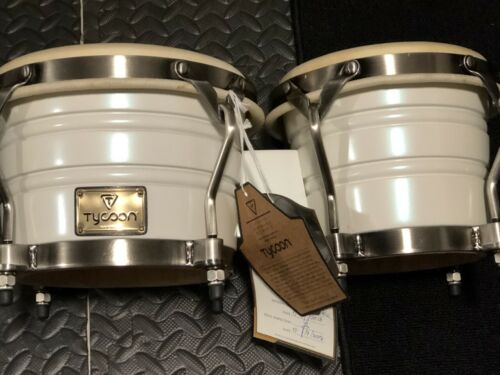 """Tycoon Percussion Signature Pearl Series Bongos - """"Real Pearl appearance"""""""