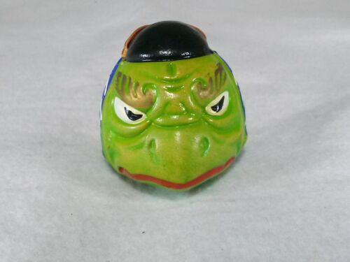 Tengu Clay bell green /  in Japan