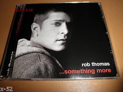 ROB THOMAS (Matchbox 20) rare SOLO ep CD Something More LONELY NO MORE remix