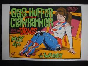 Gas Huffer - Limited Edition screenprint '96 by Coop Clayfield Brisbane North East Preview