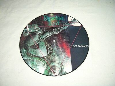 PARADISE LOST --- very rare old 1990 LOST PARADISE Picture Disc LP!!!