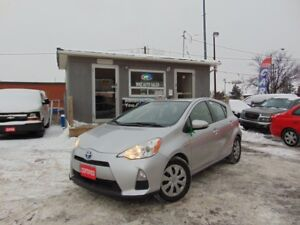 2012 Toyota Prius c Technology CERTIFIED
