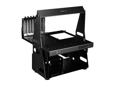LIAN LI PCT60B Black Aluminum ATX  MicroATX TEST BENCH Computer Case