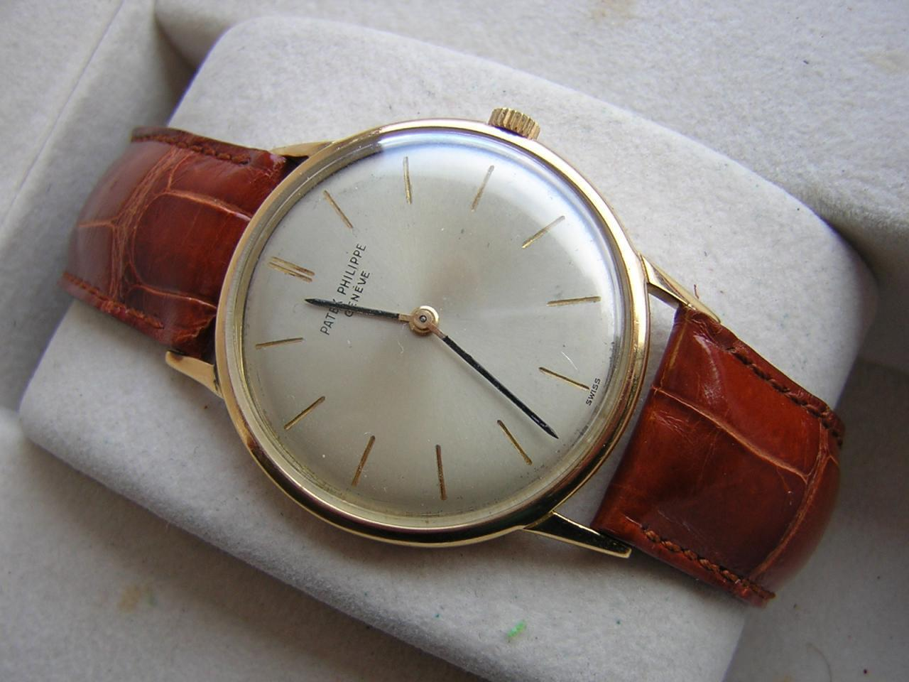 PATEK PHILIPPE MEN'S WATCH AGE: 1960's WRISTWATCH - watch picture 1
