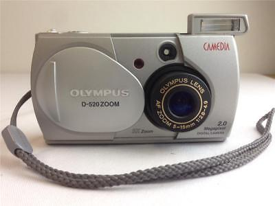 * Olympus Camedia D-520 Zoom 2MP Digital Camera 7.5X Total Digital Zoom for sale  Temecula
