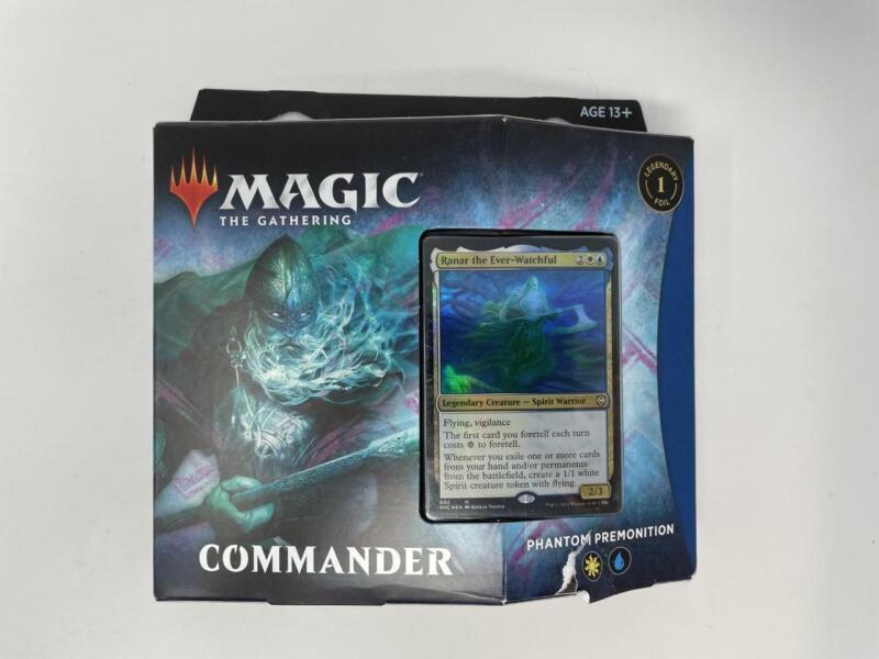 2021 Sealed MTG Magic the Gathering Commander Phantom Premonition Kaldheim Deck