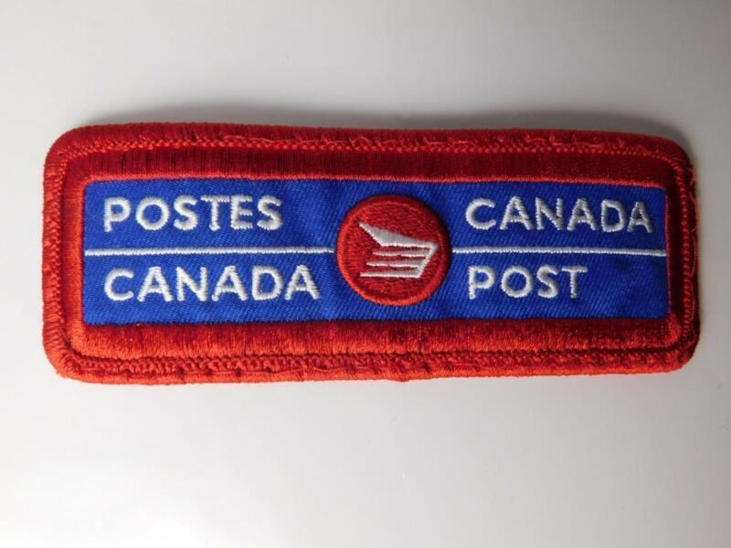CANADA POST MAILMAN MAIL VINTAGE HAT VEST PATCH BADGE EMPLOYEE CREST CANADA