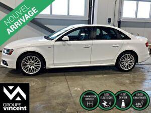 2015 Audi A4 S-LINE AWD CUIR TOIT **GARANTIE 10 ANS**