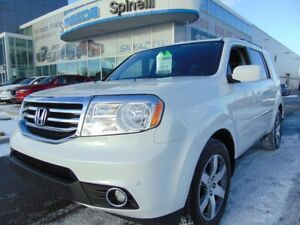 2015 Honda Pilot TOURING CUIR TOIT GPS DVD 8 PASS LEATHER ROOF N