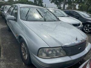 2000 Ford Fairlane AU Ghia Silver 4 Speed Automatic Sedan Werribee Wyndham Area Preview
