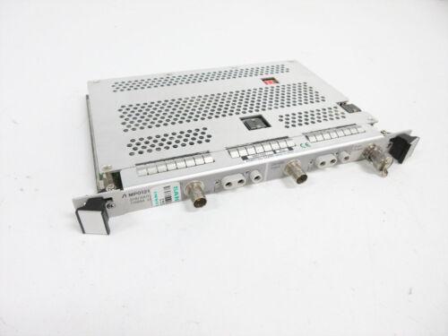 ANRITSU MP0121A ELECTRICAL PDH SDH FOR MP1552B MP1555B MP1570A MAINFRAMES