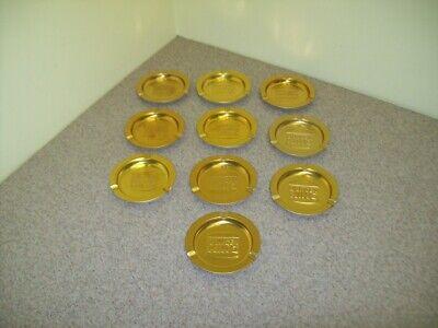 Vintage BURGER KING Tin Metal Ashtrays (Lot of 10)