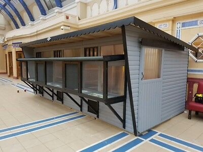 pigeon loft 18x8 3 sect  loft del and erect free delivery within 25m of workshop