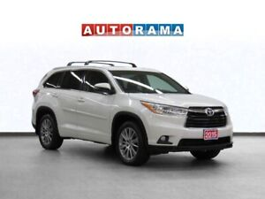 2015 Toyota Highlander XLE 4WD Navigation Leather Sunroof B-Cam