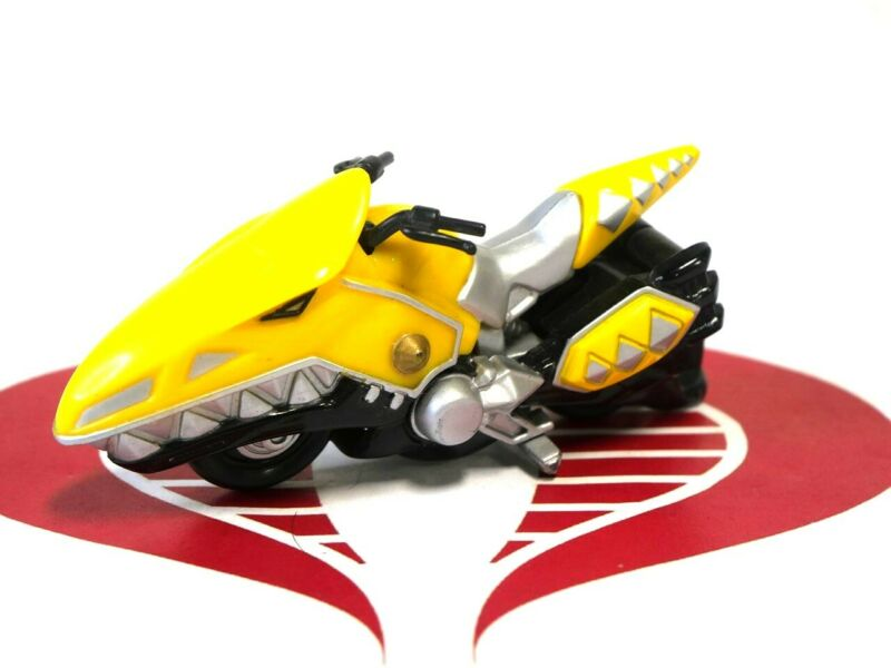Power Rangers Dino Thunder Vehicle Yellow Ranger Motor Cycle Bandai 2003