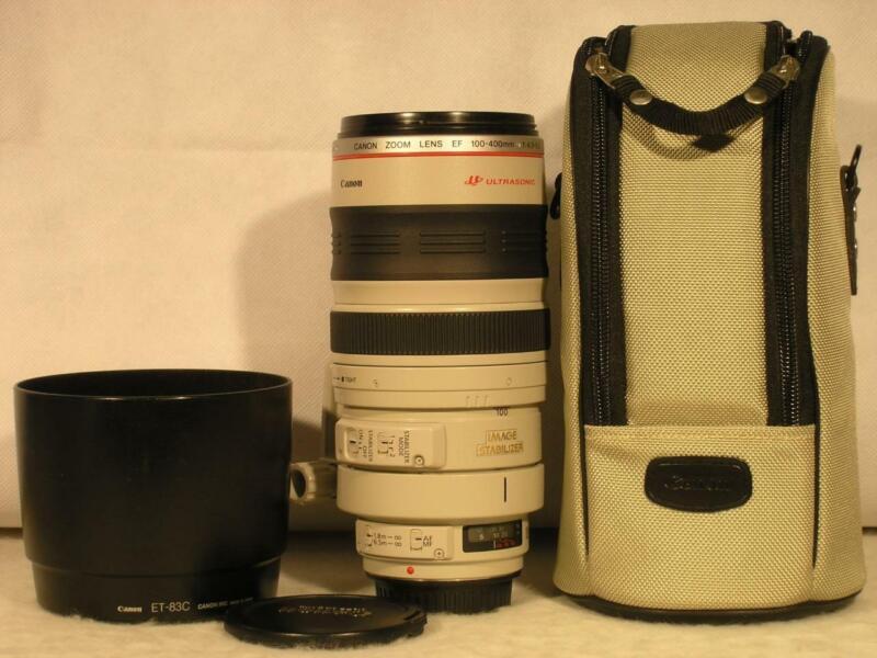 Mint Spotless Canon EF 100-400mm F4.5-5.6 L IS USM Full Frame Lens