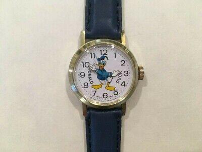 Vintage Disney Bradley Donald Duck Swiss Watch 023S - VG - Runs