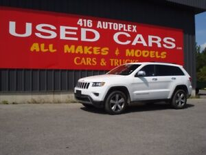2016 Jeep Grand Cherokee Limited Only 24K Leather Loaded