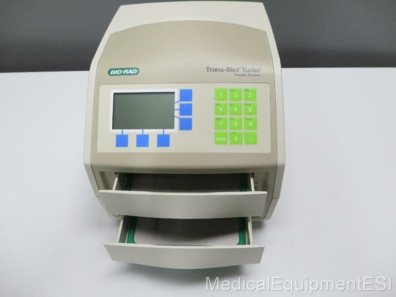 BIO RAD Trans-Blot Turbo Transfer System With Two Cassettes and Warranty