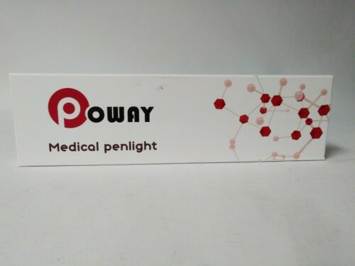 Poway Medical Penlight - Package of 2 - Batteries Included - BRAND NEW!