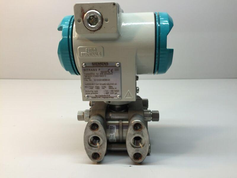 Siemens Sitrans P Transmitter 7MF4433-1FA62-1nc1-Z